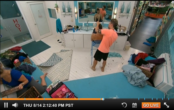 Big Brother Live Feeds August 14 2