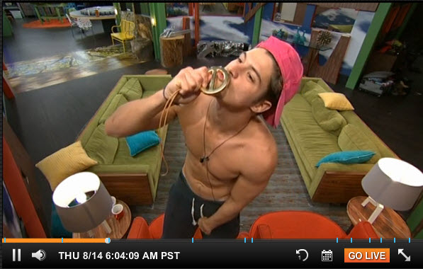 Big Brother Live Feeds August 14 3