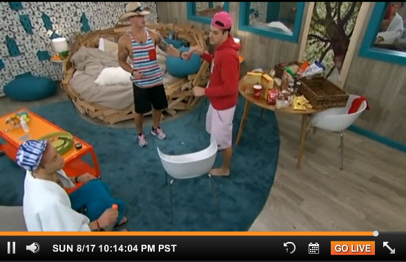 Big Brother Live Feeds August 17 2014 1