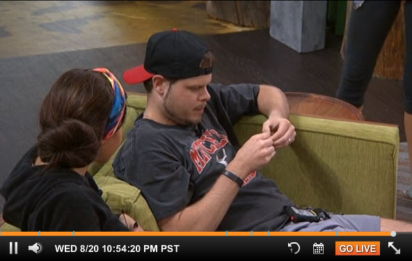 Big Brother Live Feeds August 18 2014 1