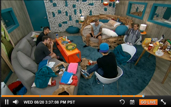 Big Brother Live Feeds August 18  2014 2