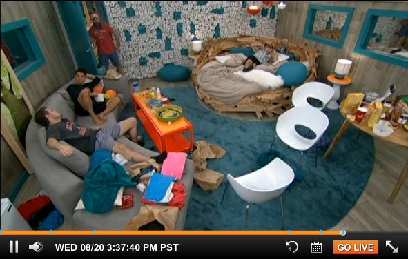Big Brother Live Feeds August 18 2014 3