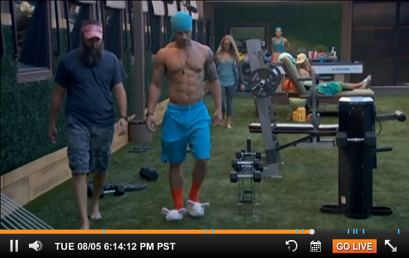 Big Brother Live Feeds – August 6 2014 1