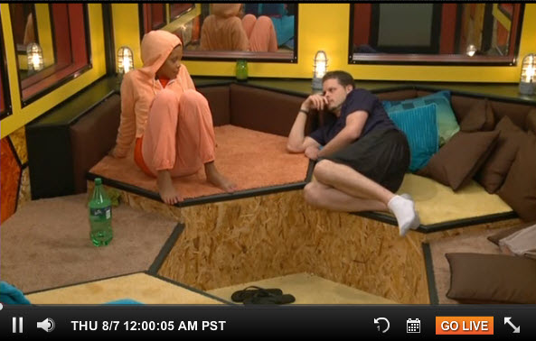 Big Brother Live Feeds August 6  2014 3