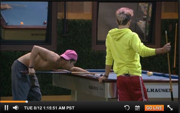 Big Brother Live Feeds August 8 2014 1