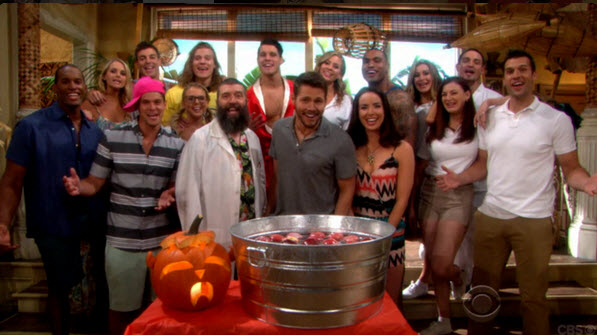 Big Brother Cast Members on Bold and Beautiful Halloween 2