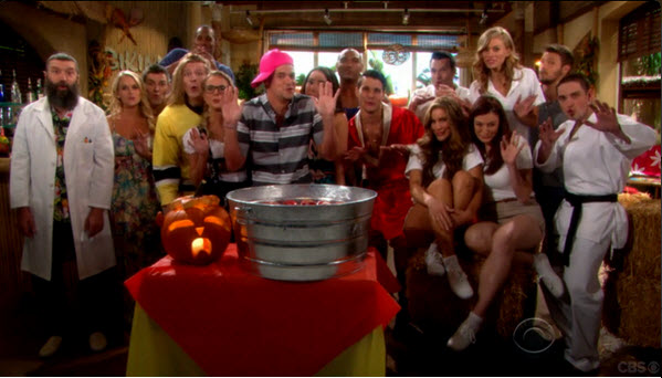 Big Brother Cast Members on Bold and Beautiful Halloween