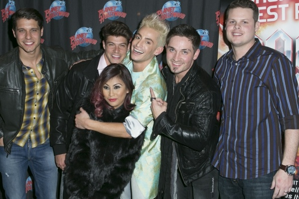 Big Brother 16: Derrick, Cody, Frankie, Paola, Zach, and Caleb Rock of Ages