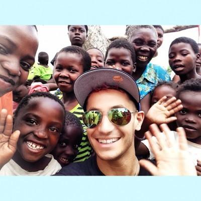 Frankie Grande in Africa 2