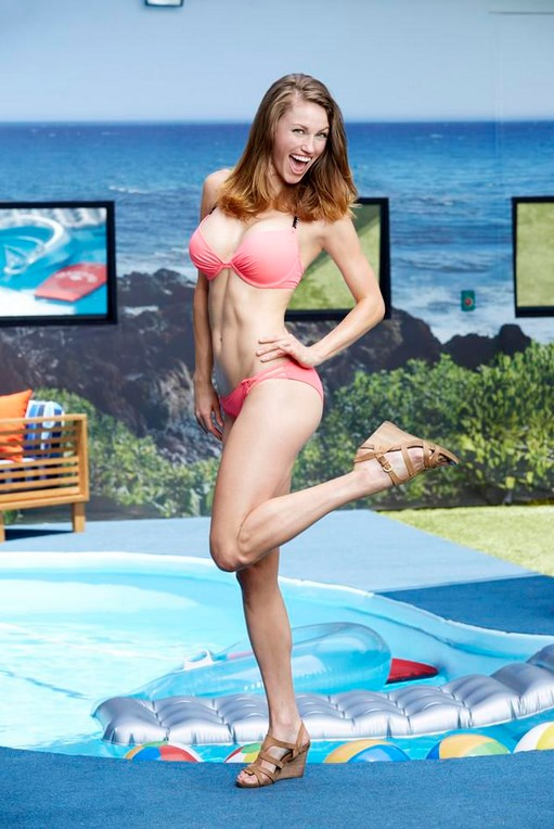 Becky Burges Big Brother 17 Swimsuit