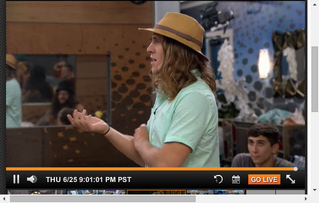 Big Brother Live Feeds  6-25-2015 2