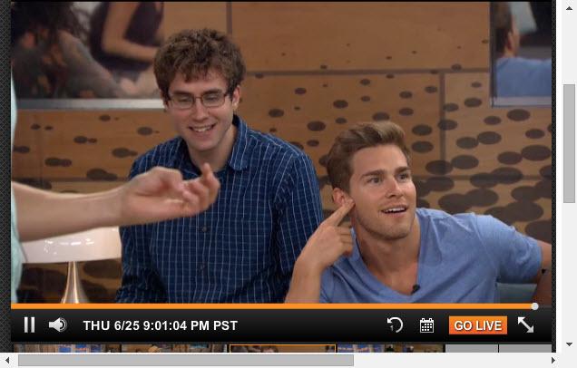 Big Brother Live Feeds  6-25-2015 3