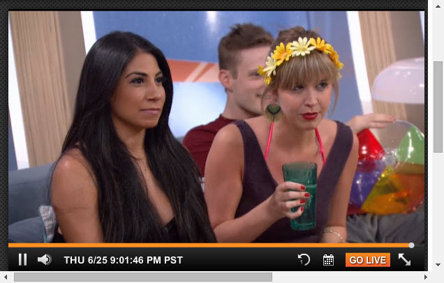 Big Brother Live Feeds  6-25-2015 4
