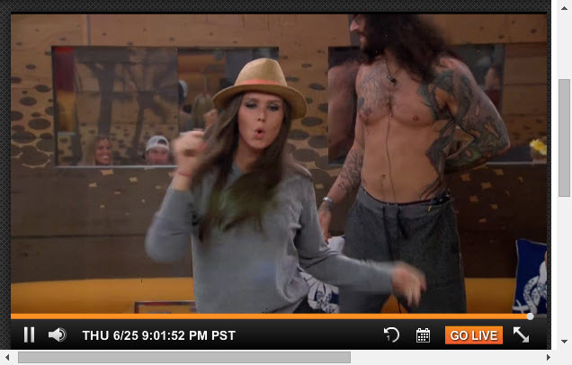 Big Brother Live Feeds  6-25-2015 5