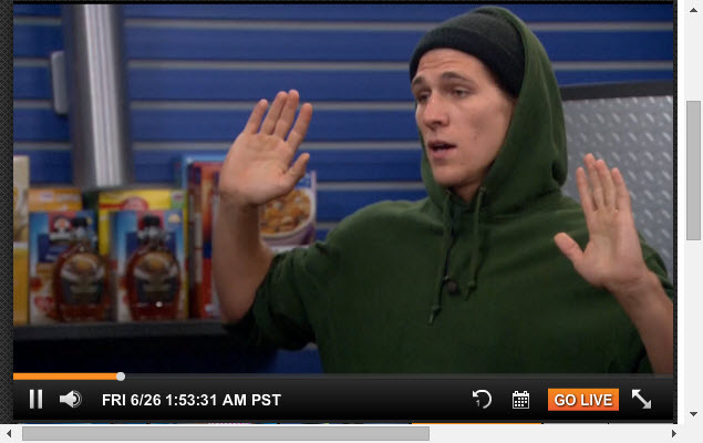 Big Brother Live Feeds 6-26-2015 2