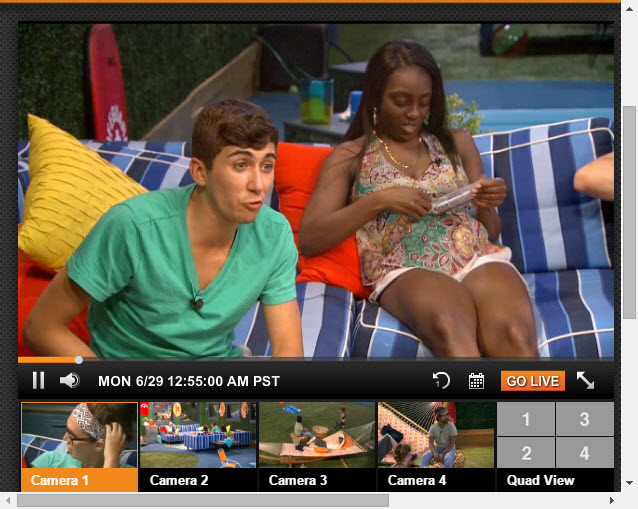 Big Brother Live Feeds 6-29-2015 3