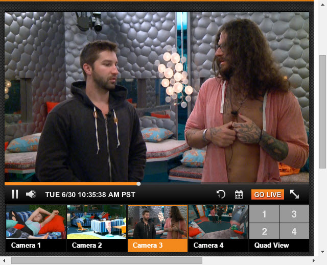 Big Brother Live Feeds 6-30-2015 1