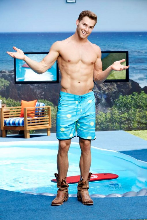 Clay Honeycutt Big Brother 17 Swimsuit