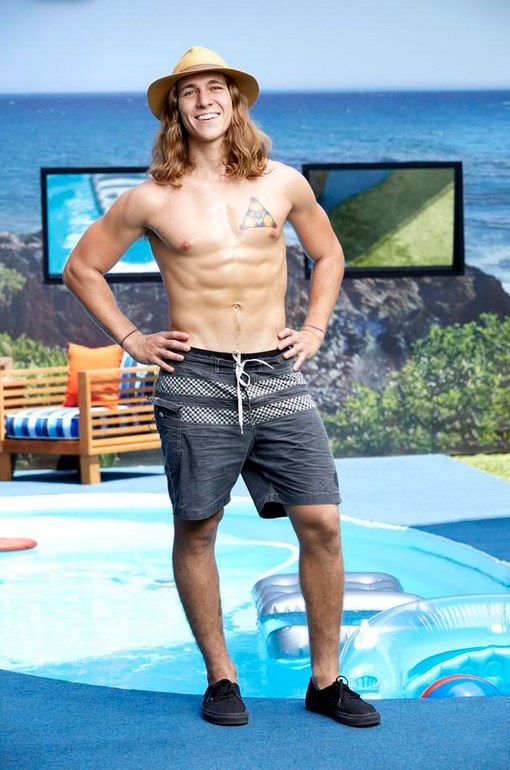 Jace Agolli Big Brother 17 Swimsuit