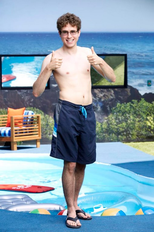 Steve Moses Big Brother 17 Swimsuit