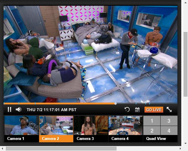 Big Brother 17 Live Feeds 07-02-2015 1