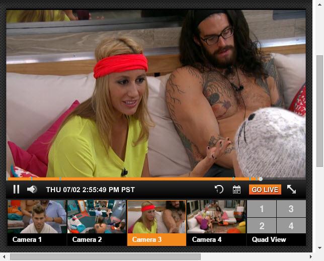 Big Brother 17 Live Feeds 07-02-2015 2
