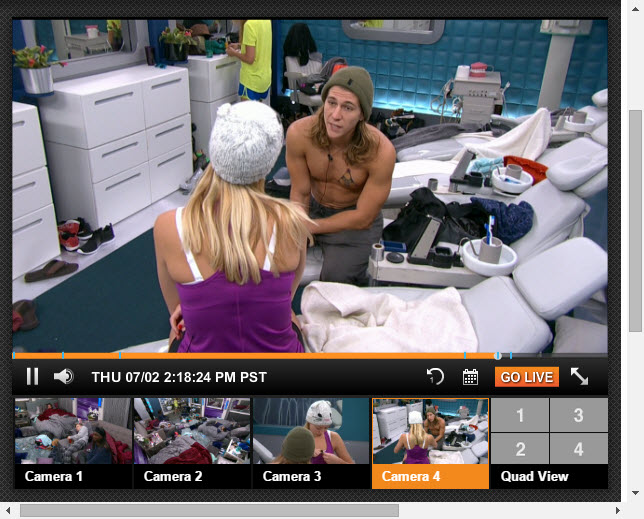 Big Brother 17 Live Feeds 07-02-2015 3