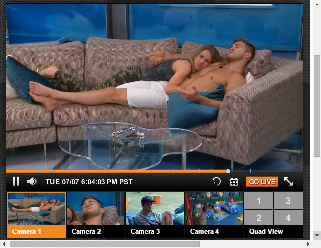Big Brother 17 Live Feeds 7-7-2015 1