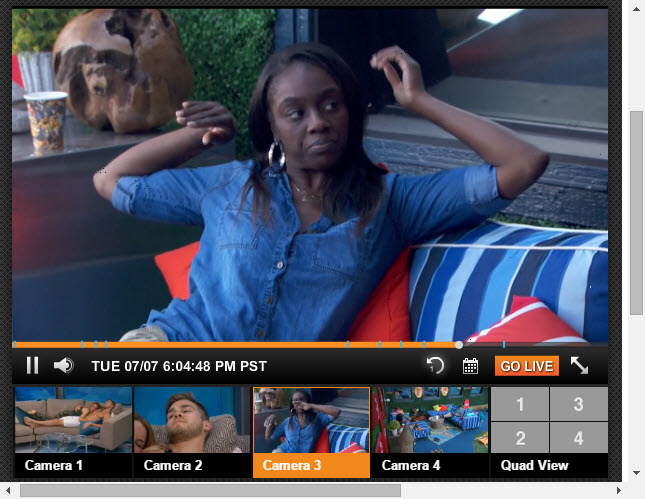 Big Brother 17 Live Feeds 7-7-2015 3