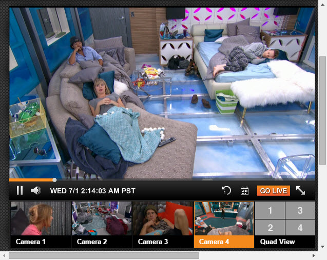 Big Brother Live Feeds 07-01-2015 3