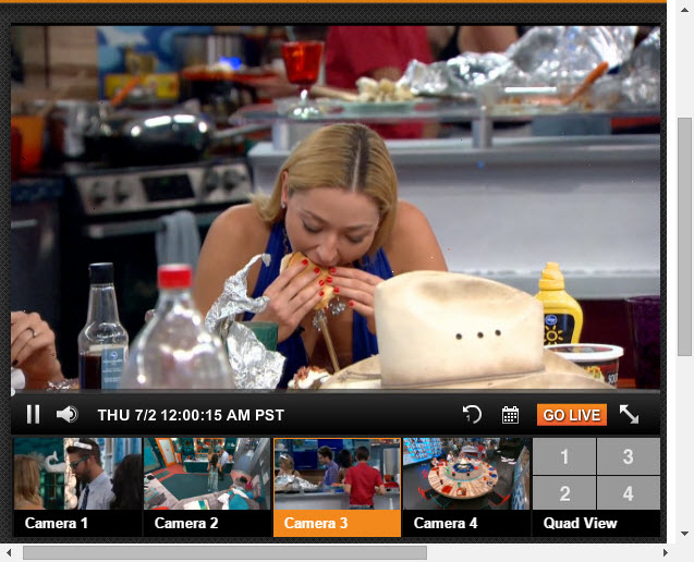 Big Brother Live Feeds 07-01-2015 5