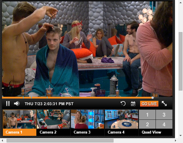 Big Brother Live Feeds July 23 2015 (3)