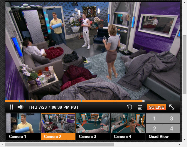 Big Brother Live Feeds July 24 2015 (2)