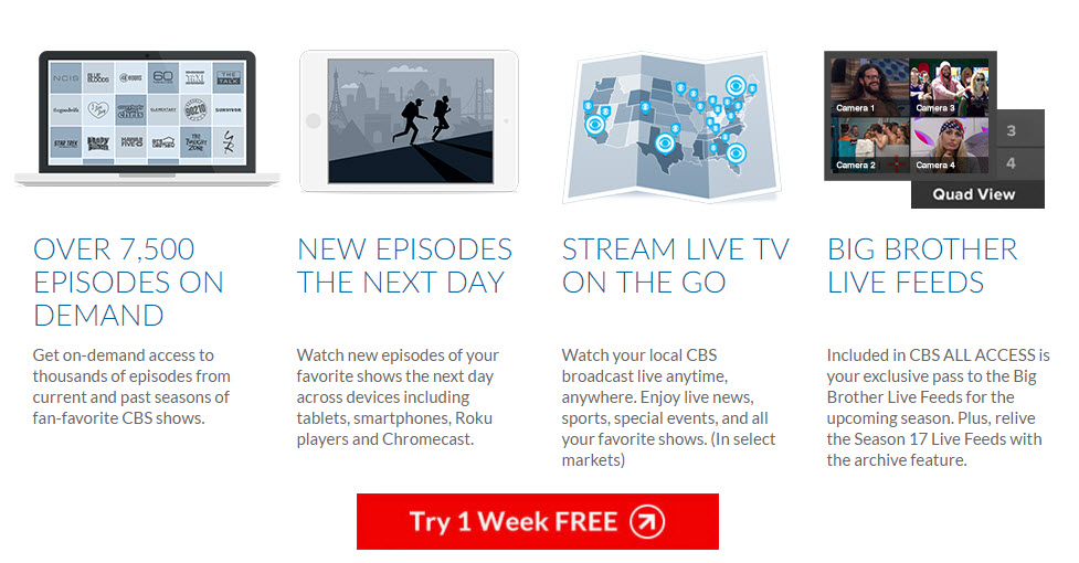 Big Brother 18 CBS All Access Live Feeds