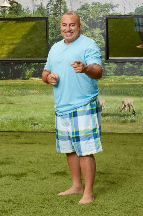 Glenn Garcia Big Brother Swimsuit