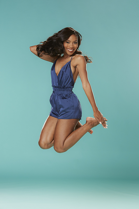 Zakiyah Everette Big Brother Jumping