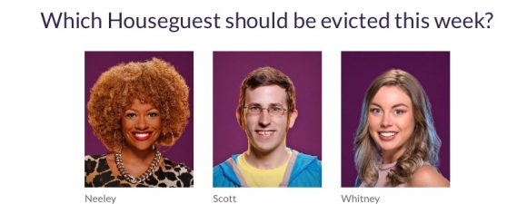 Big Brother Over the Top Week 4 Eviction