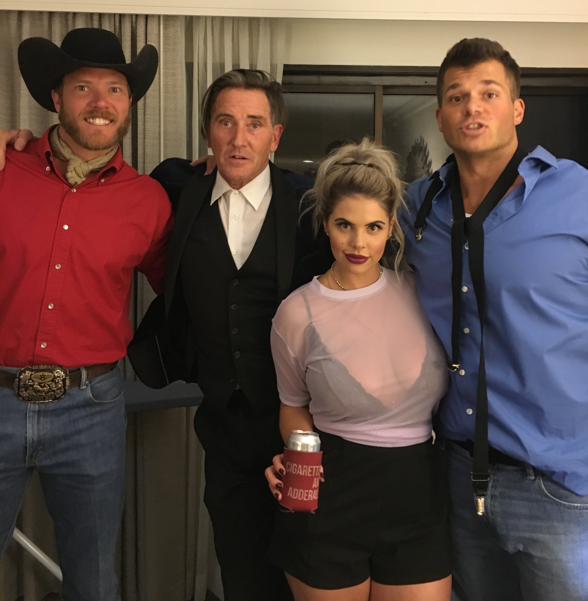 Big Brother 19 Mark Jansen, Elena Davies, Kevin Schlehuber, and Jason Dent