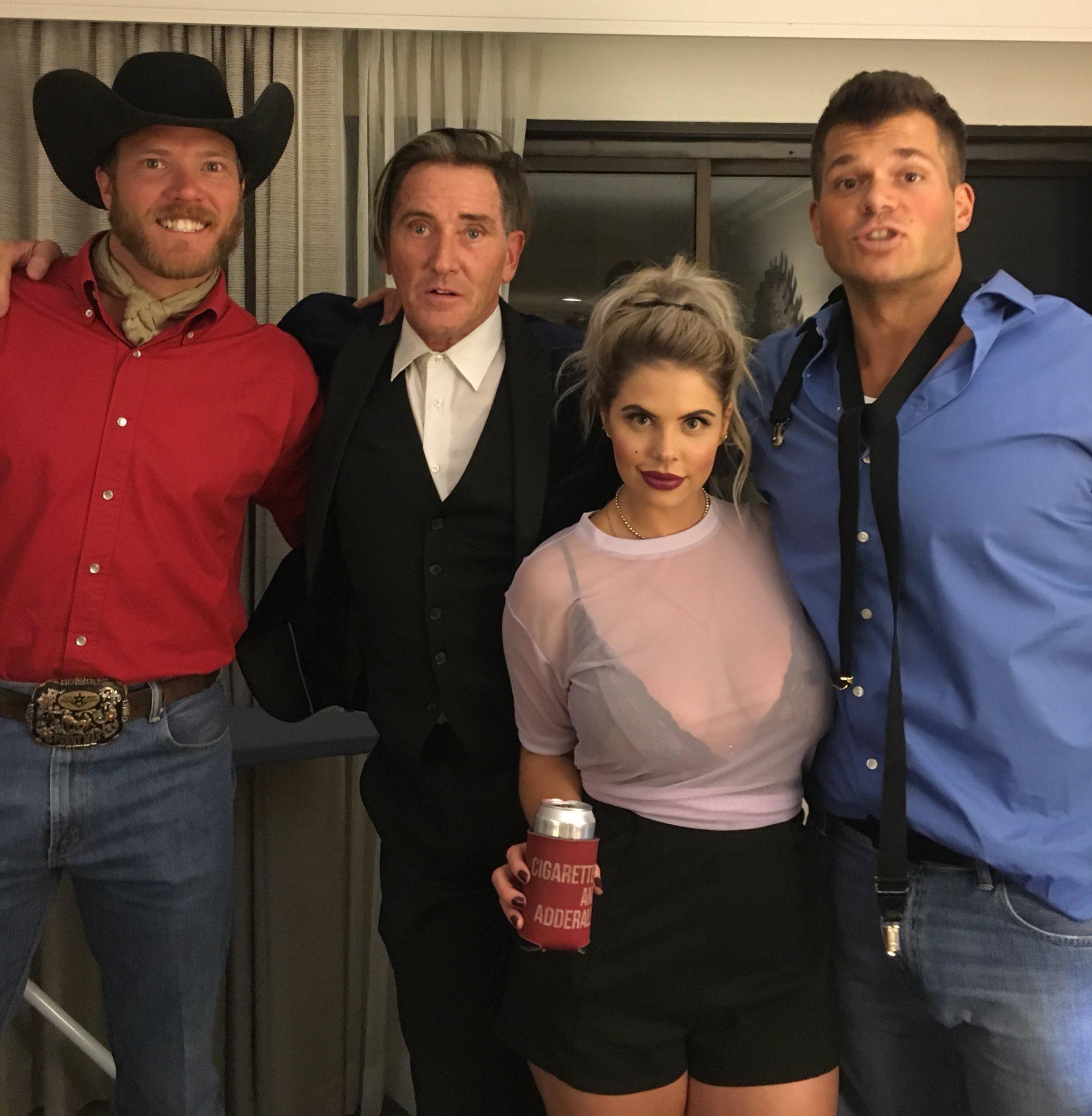 Big Brother 19 Mark Jansen, Elena Davies, Kevin Schlehuber, and Jason Dent